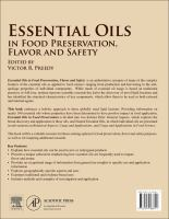 Essential oils in food preservation, flavor and safety [electronic resource]