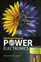 Alternative energy in power electronics [electronic resource]