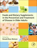 Foods and dietary supplements in the prevention and treatment of disease in older adults [electronic resource]