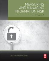 Measuring and managing information risk [electronic resource] : a FAIR approach