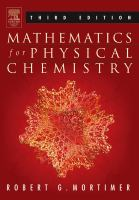 Mathematics for physical chemistry [electronic resource]