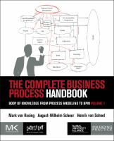 The complete business process handbook. Volume I [electronic resource] : body of knowledge from process modeling to bpm