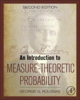 An introduction to measure-theoretic probability [electronic resource]