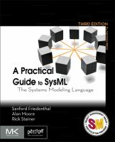 A practical guide to sysml [electronic resource] : the systems modeling language