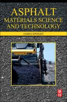 Asphalt materials science and technology [electronic resource]