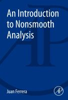 An introduction to nonsmooth analysis [electronic resource]