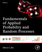 Fundamentals of applied probability and random processes [electronic resource]