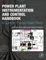 Power plant instrumentation and control handbook [electronic resource] : a guide to thermal power plants