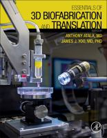 Essentials of 3D biofabrication and translation [electronic resource]