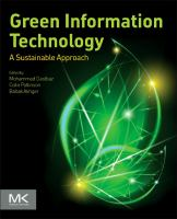 Green information technology [electronic resource] : a sustainable approach