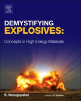 Demystifying explosives [electronic resource] : concepts in high energy materials
