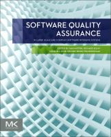 Software quality assurance [electronic resource] : in large scale and complex software-intensive systems