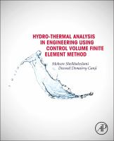 Hydrothermal analysis in engineering using control volume finite element method [electronic resource]