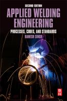 Applied welding engineering [electronic resource] : processes, codes, and standards