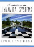 Invitation to dynamical systems /