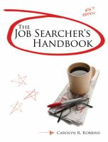 The job searcher's handbook
