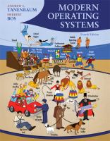 Modern operating systems.