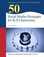 50 social studies strategies for K-8 classroom