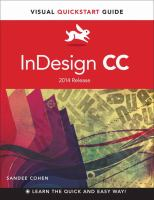 InDesign CC : 2014 release for Windows and Macintosh