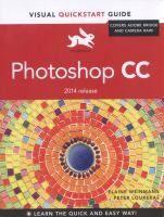 Photoshop CC [electronic resource]: Visual QuickStart Guide (2014 Release)