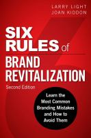 learn the most common branding mistakes and how to avoid them