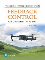 Feedback control of dynamic systems /