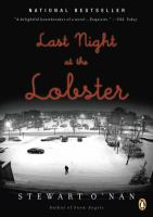 Last night at the Lobster.