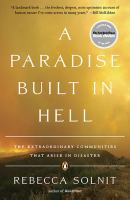 Book cover of A Paradise Built in Hell