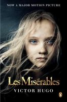 Book cover for Les Miserables by Victor Hugo