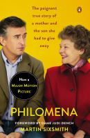 Book cover for Philomena by Martin Sixsmith