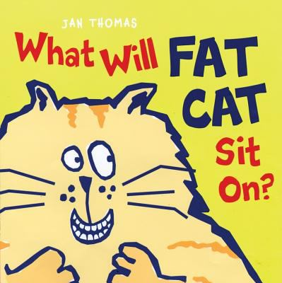 Cover Art for What will Fat Cat sit on?