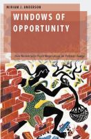 Windows of opportunity : how women seize peace negotiations for political change