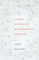 Brief history of mathematical thought /