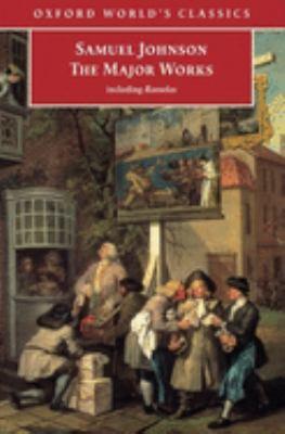 Cover Image for Samuel Johnson: The Major Works by Samuel Johnson