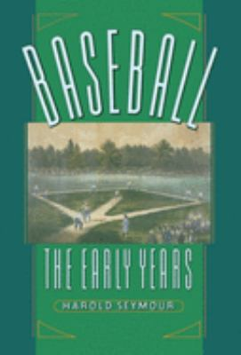 cover of the e-book Baseball: The Early Years