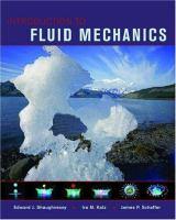 Introduction to fluid mechanics [electronic resource]