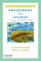 Philosophy of science : a new introduction