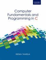 Computer Fundamentals & Programming in C