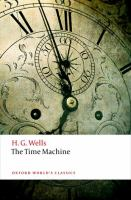 The Time Machine by H.G. Wells (book cover)