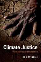 Climate justice : vulnerability and protection