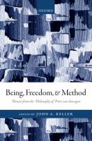 Being, freedom, and method : themes from the philosophy of Peter Van Inwagen /