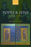 Popes and Jews, 1095-1291 /