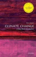 Climate change : a very short introduction