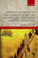 The role of death in the 'Ladder of Divine Ascent' and the Greek ascetic tradition