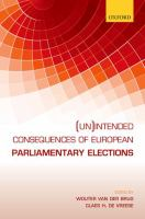 (Un)intended consequences of EU parliamentary elections /