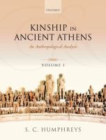 Kinship in ancient Athens : an anthropological analysis /