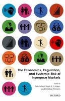 Economics, regulation, and systemic risk of insurance markets /