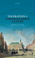 Toleration and understanding in Locke /