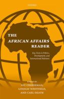 African affairs reader : key texts in politics, development, and international relations /