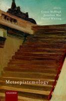 Metaepistemology /